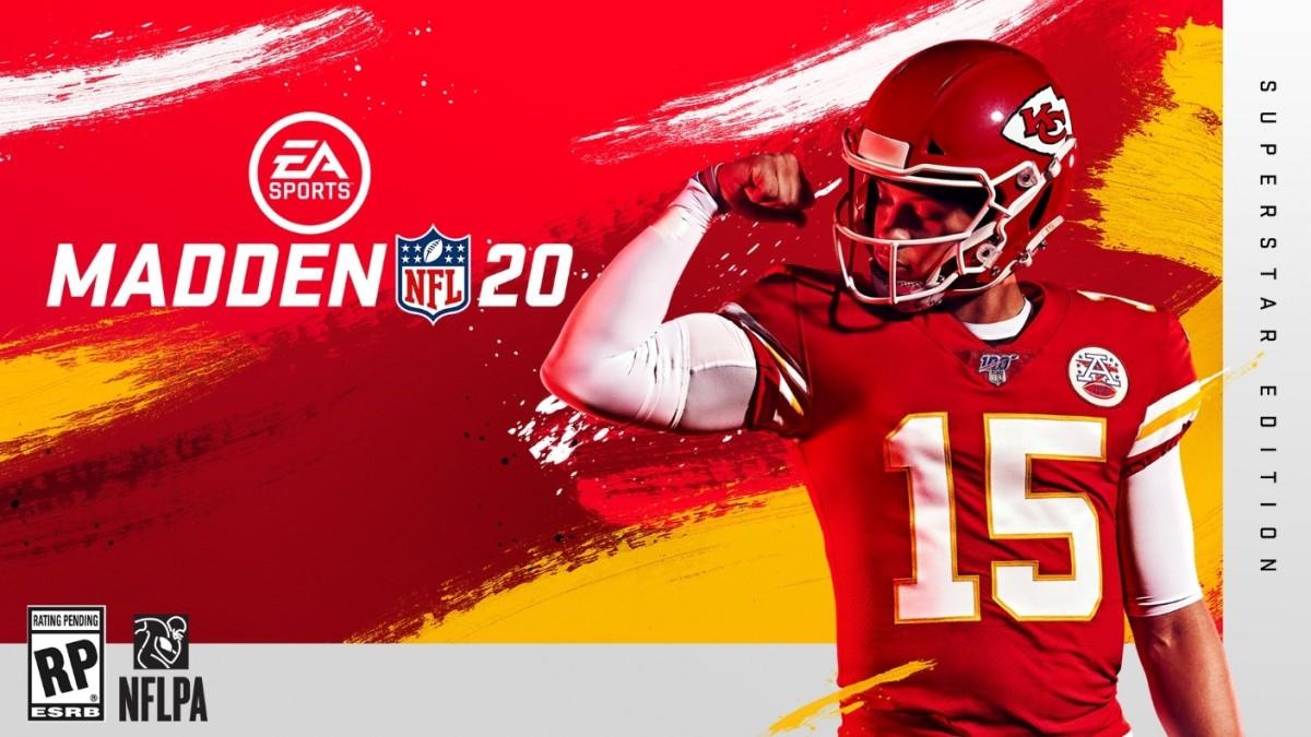 Patrick Mahomes será la portada del Madden NFL 20